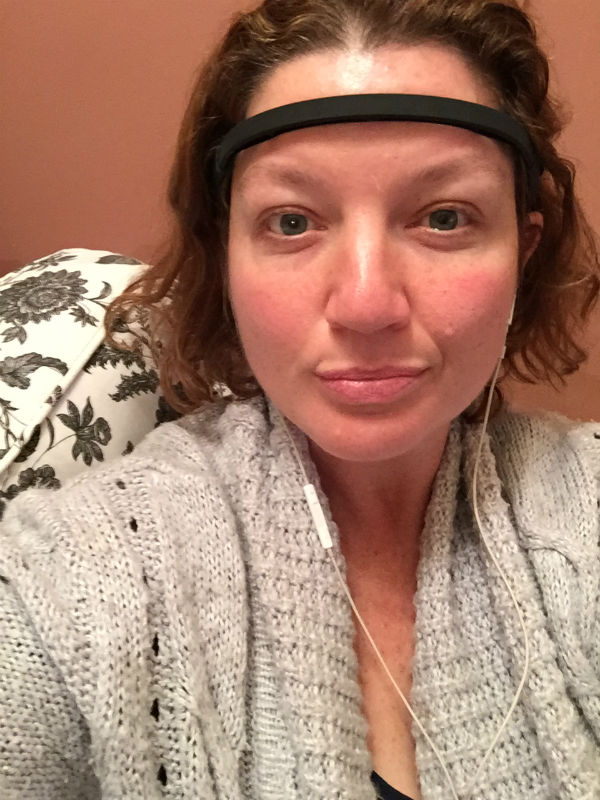 Loving my new My first mediation session with MUSE The Brain Sensing Headband. It is so amazing and really helps me relax. Do you meditate? Does it work for you? You can clearly see that I look sleepy and very calm here.