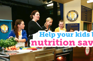 Nestlé Healthy Active Kids, Plus Win a Kitchen Kart for Your School