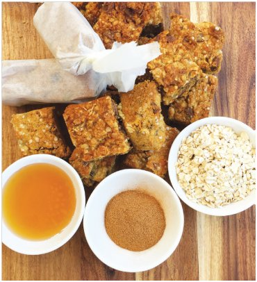 Cook an oat slice today with the kids. My girls are now into oat slices and this will be a perfect addition to their school lunches or just for an afternoon snack.