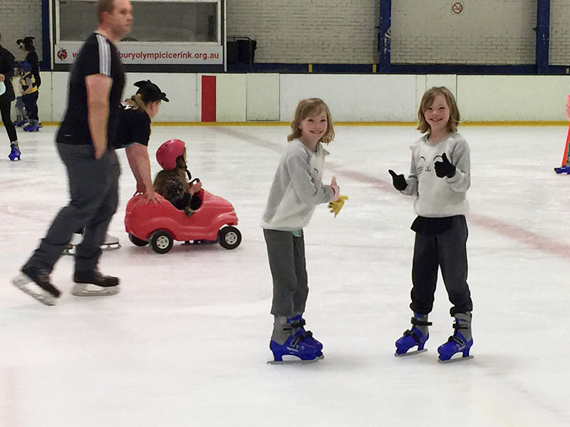 Ice Skating is so much fun. Have fun at Canterbury Olympic Ice Rink with the kids.