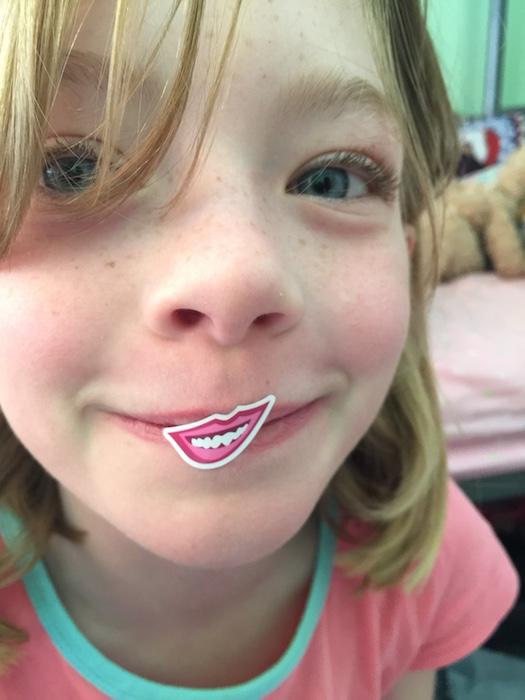 Don't you love Julia's Stickles lips? I do!