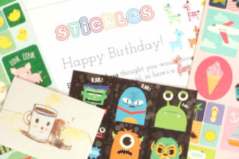 Stickles Fun Stickers for Kids + 2 Readers can win