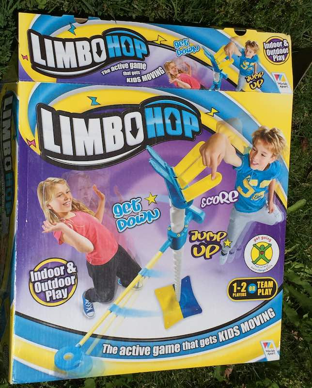 Limbo Hop is a fun active game for kids.