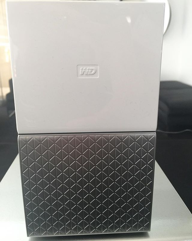 The fab looking and great storage device from Western Digital. The My Cloud Home is helping me back up all my precious data.