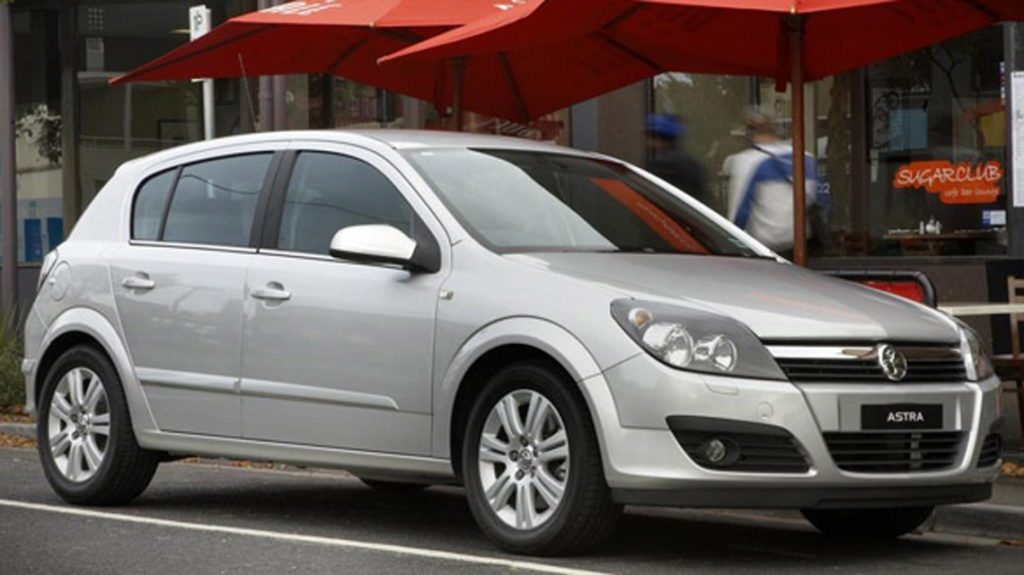 Holden Astra, this is like my car. Image from the NRMA website.