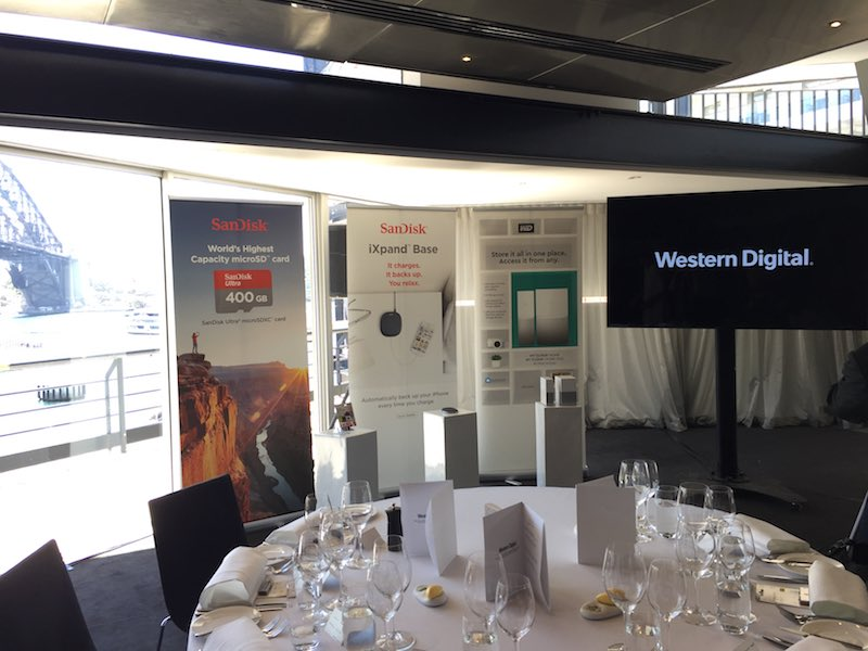 Ready to learn about the fab new home storage products from Western Digital and to experience lunch at the Quay Restaurant.