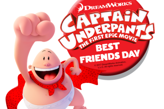 Captain Underpants Best Friends Day + Giveaway