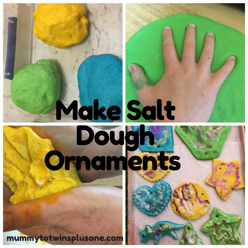 Make Salt Dough Ornaments today with the kids