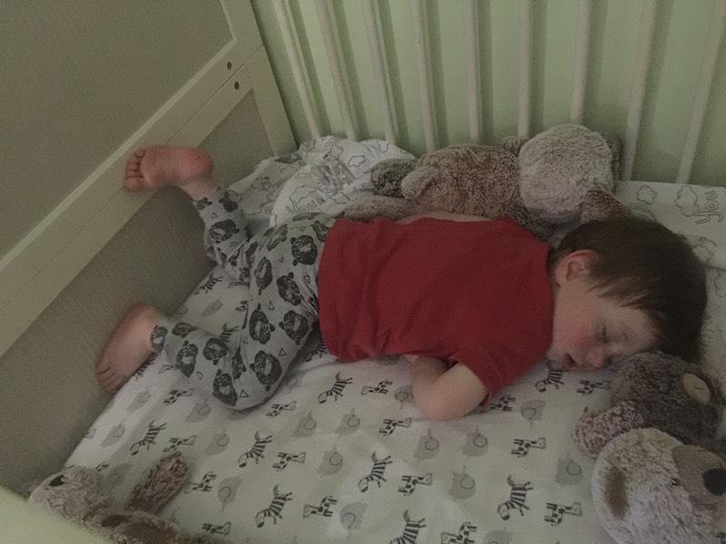Super cute Alexander sleeping. I love watching him sleep.