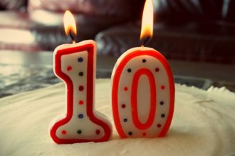 We are 10 years old – Win Every month to Celebrate!