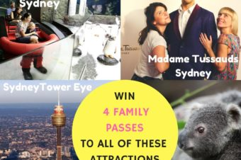 Win A Family Pass to 4 Sydney Attractions