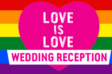 Love is Love Wedding Reception – Sydney Festival