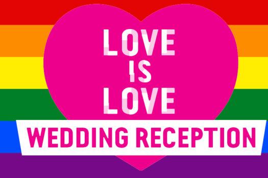Love is Love Wedding Reception – Sydney Festival