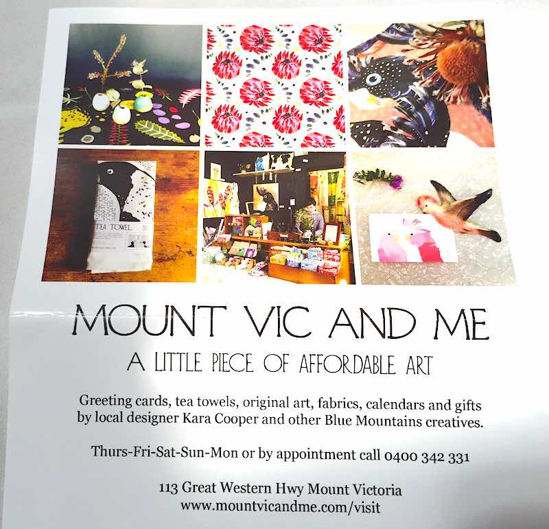 Mount Vic And Me Flyer