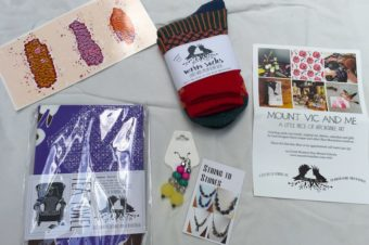 Win: A Mount Vic And Me & String to Stones Goodie Bag