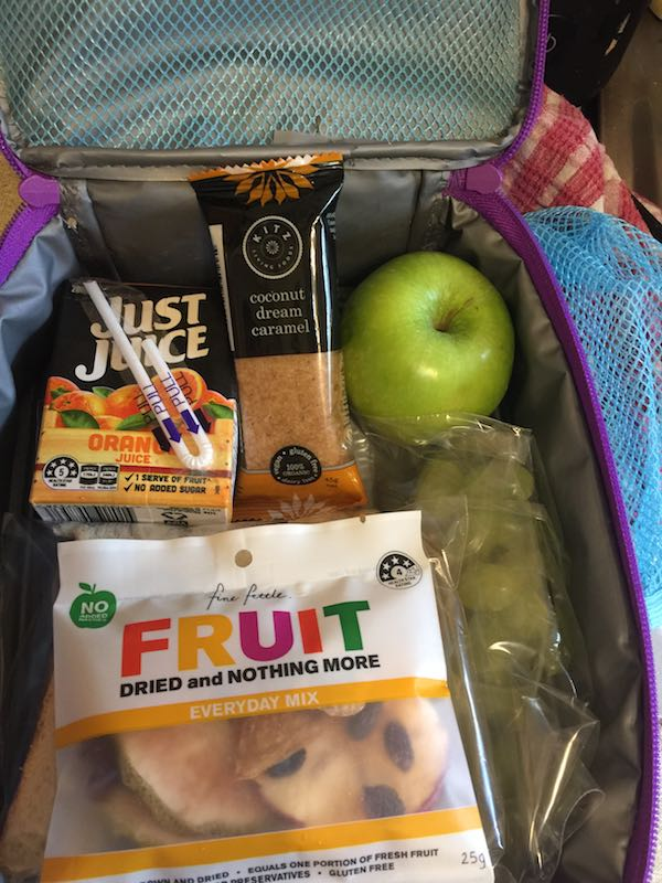 The kids loved their snacks from School Snack Box.