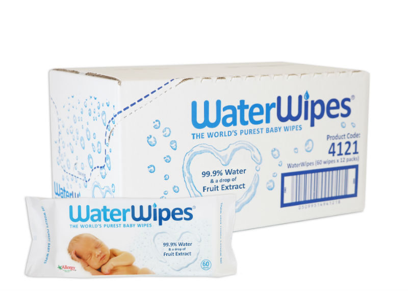 WaterWipes The World's Purest Baby Wipes