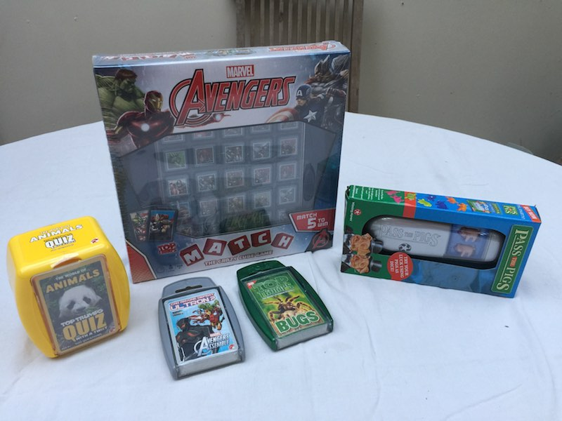The Avengers Winning Moves Goodie Bag
