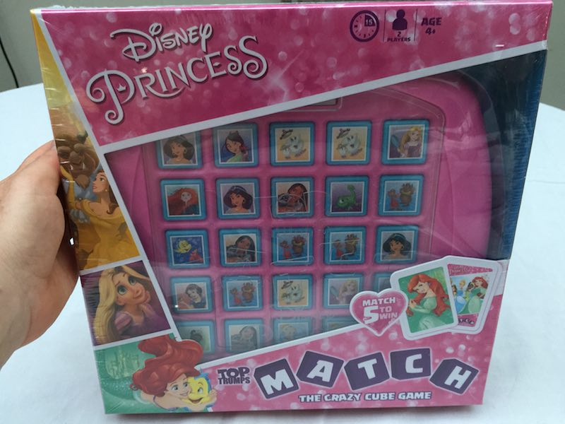 Disney Princess Match