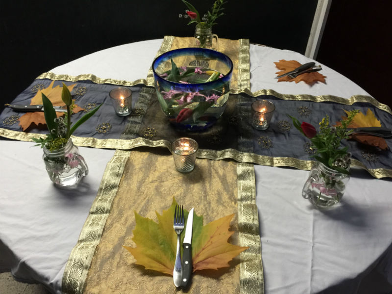 Magical Autumn Dinner Party - I told you it would look amazing!