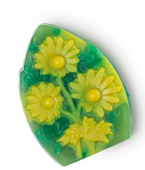 Limited edition Chamomilelawn soap from LUSH