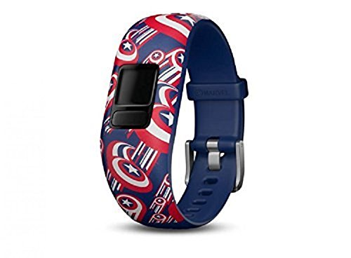 Get a replacement adjustable band that allows you to play new games and have a whole new look. The twins now have the Marvel Avengers Garmin Vivofit jr 2.