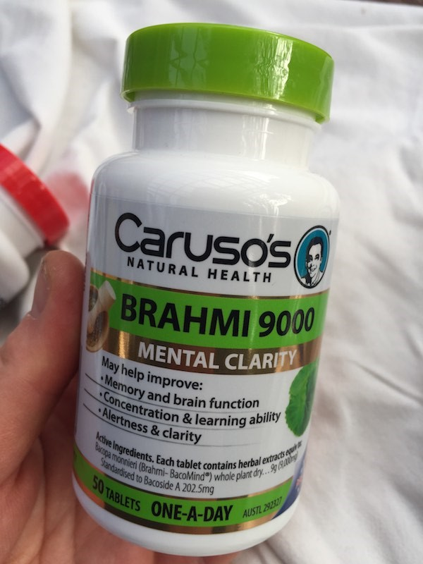 Brahmi 9000 from Caruso's Natural Health