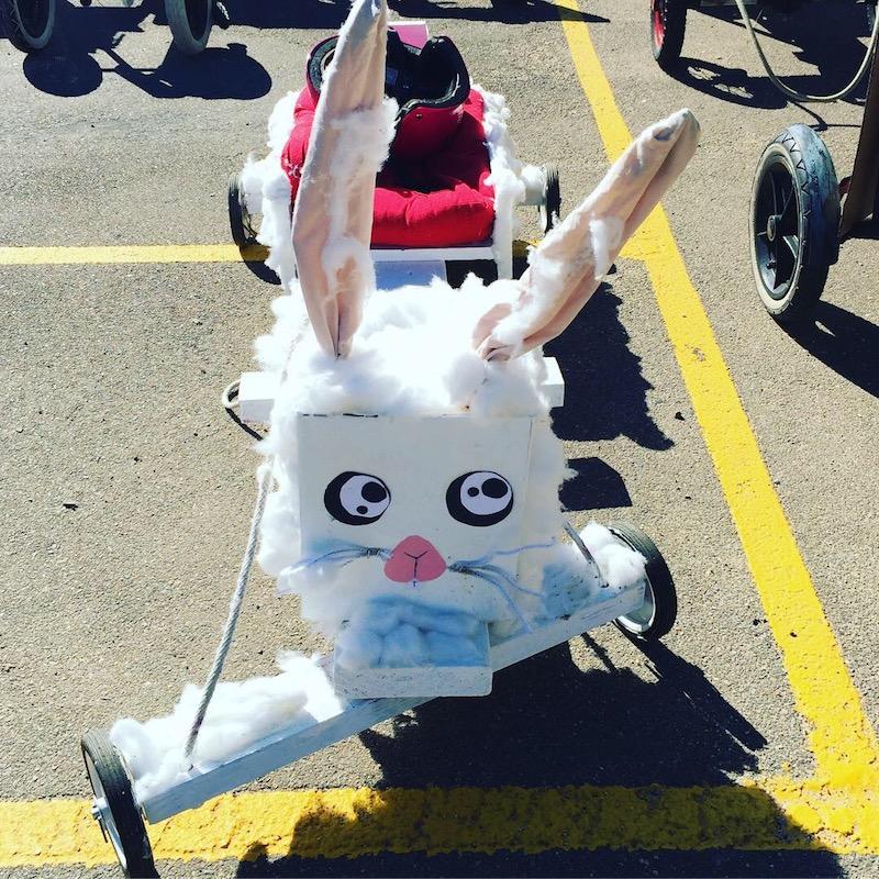 Rabbit billy cart.