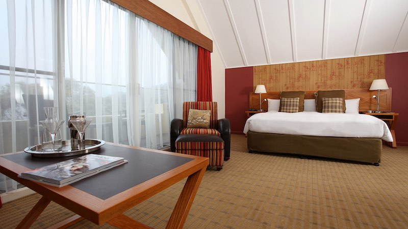 One of the Deluxe Room at The Fairmont Resort Leura.
