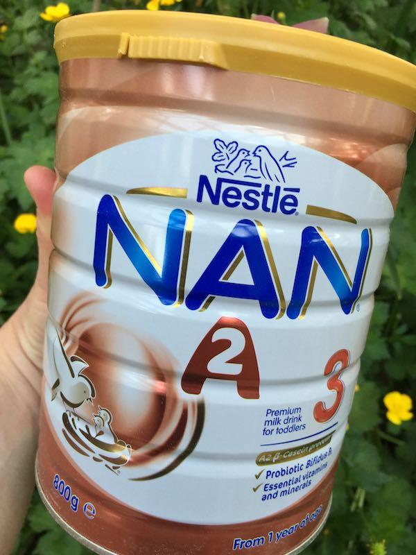 Nestlé NAN A2 Stage 3 Toddler Milk