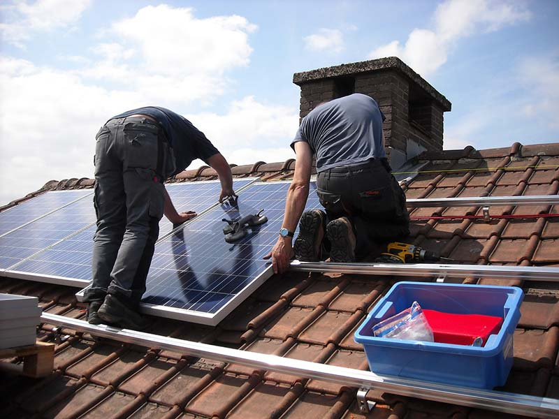 Add solar panels