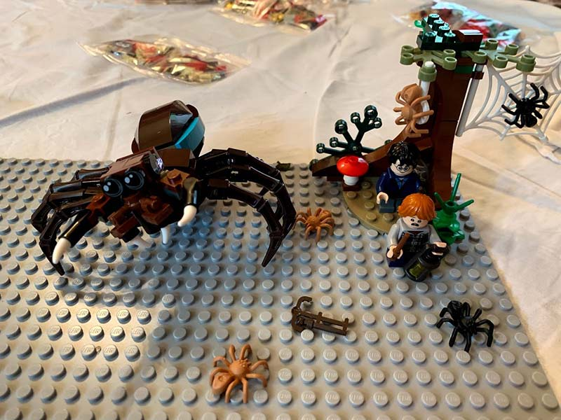 Harry Potter Aragog's Lair - LEGO 75950 Playset