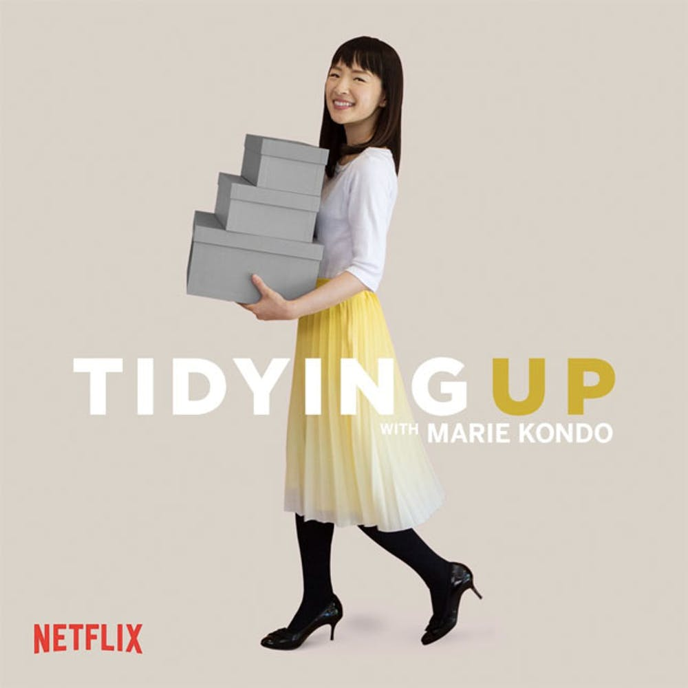 Tidying Up With Marie Kondo, watch the new show on NetFlix