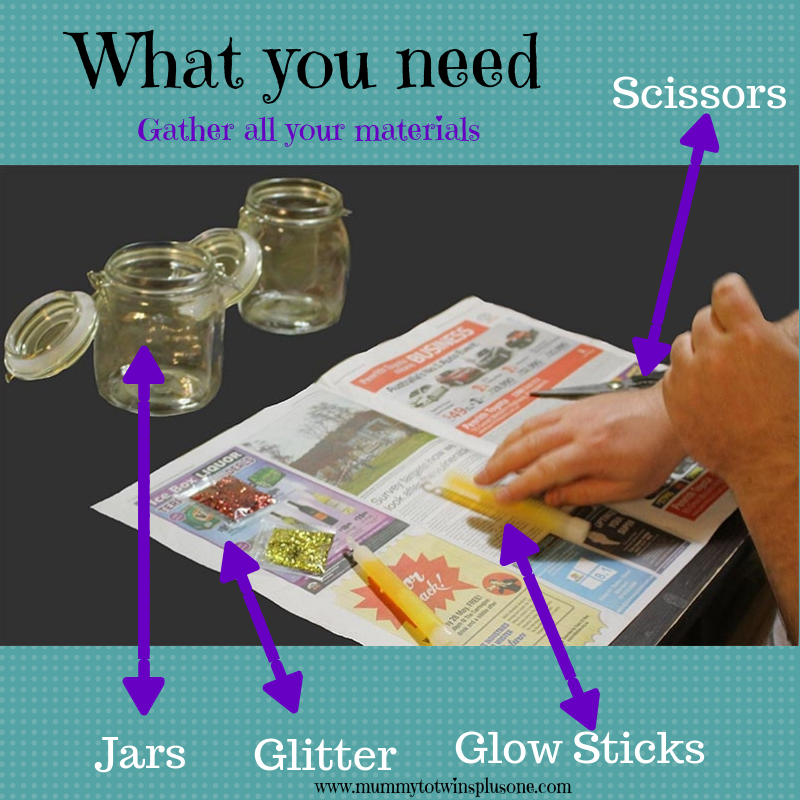 What you will need to create fairy lights