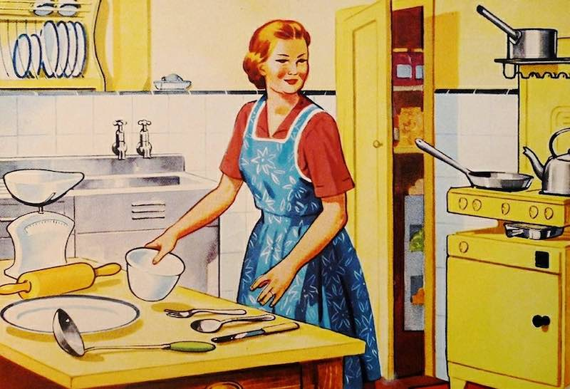 This is not me, and never has been me. Men are still thinking that this is women. Cooking, caring and being a dedicated housewife/housekeeper. It is 2019 not 1950's.