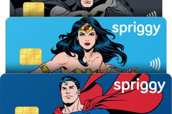 Super Hero Spriggy Pre-Paid Debit Cards + Giveaway