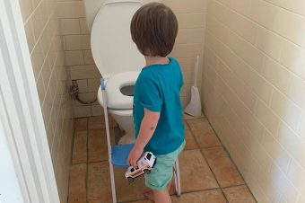 The Messy Side of Toilet Training