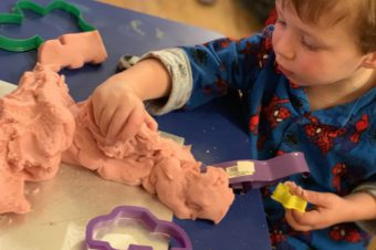 Amazing Smelling Raspberry Play Dough