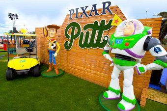 WIN 2 Family Passes to Pixar Putt Brisbane