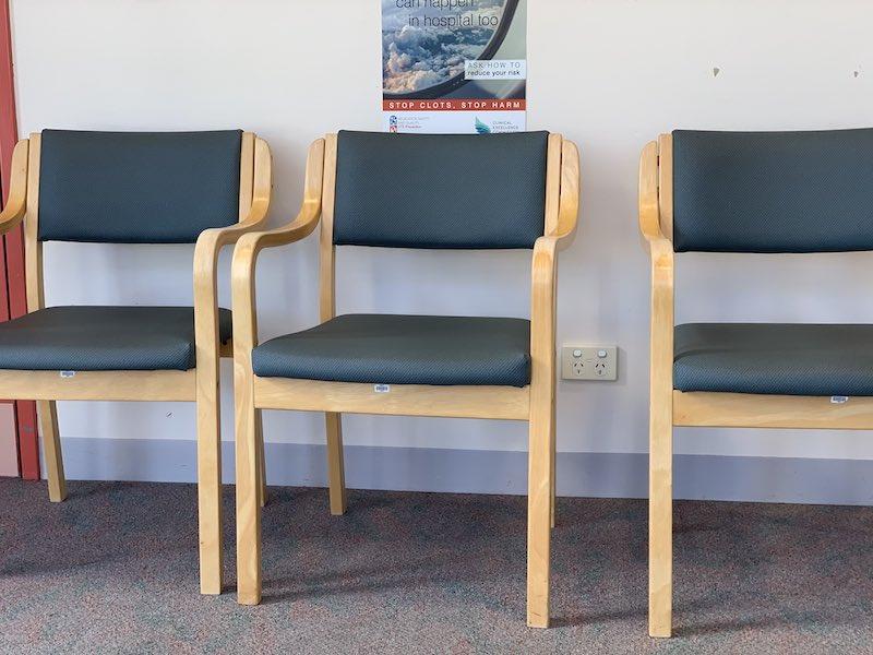 Waiting at the hospital
