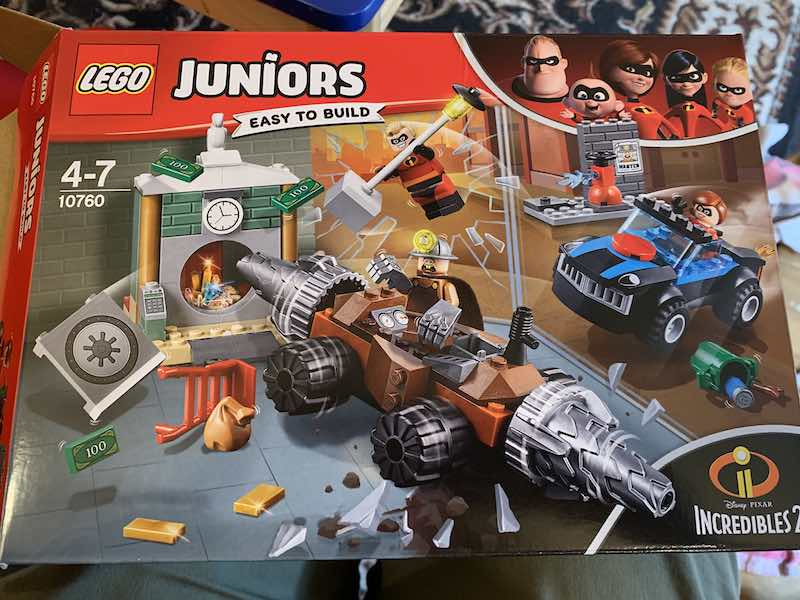 LEGO Jr Incredibles 2 Underminer Bank Heist Set