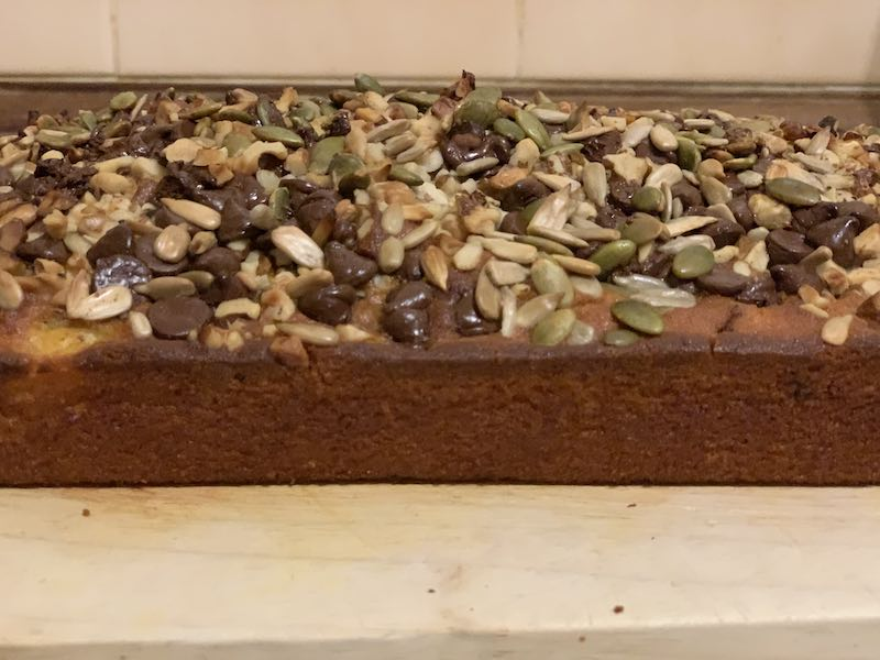Choc Chip Pumpkin Bread - Yummy and all ready to eat!