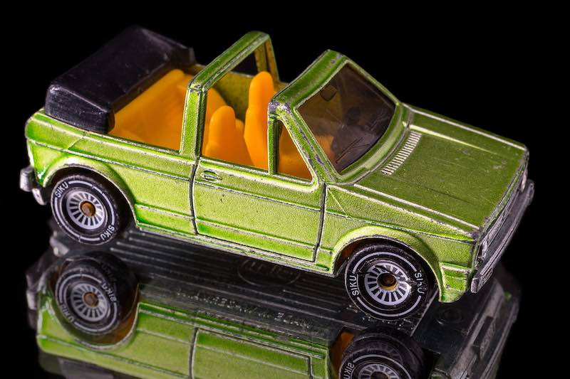 Cool convertible - Toy car