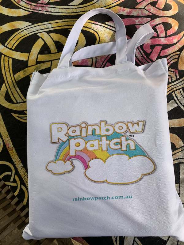 The Rainbow Patch PlayBook is compact and doesn't take up much room at all. Great for small spaces.