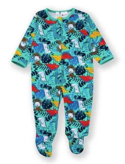 Dymples Baby Print Coverall - Green at BigW - $6