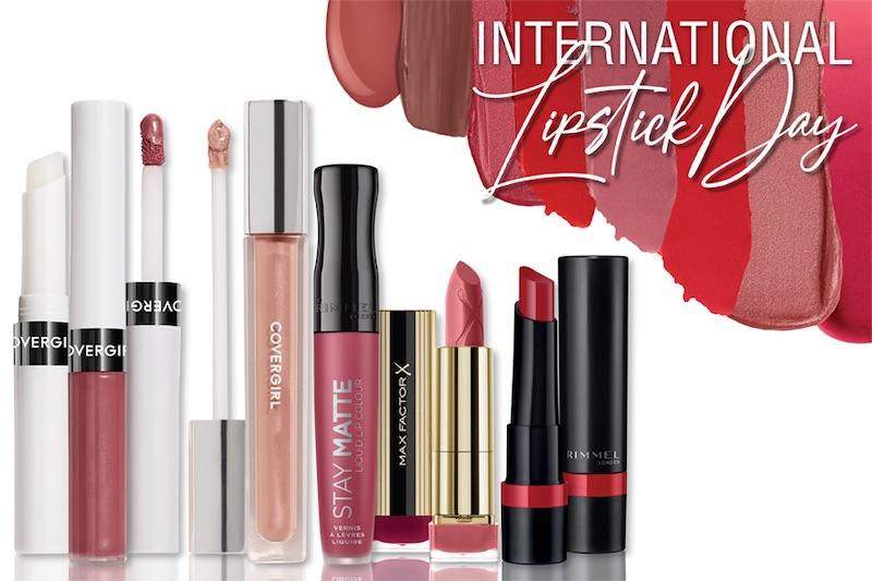 International Lipstick Day - Get lipstick at 50% off!