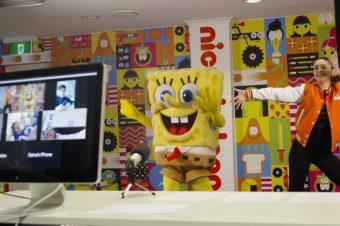 SpongeBob Popping into Your Zoom Calls