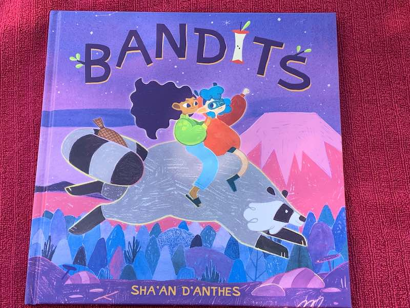 Sha'an d'Anthes new picture book Bandits