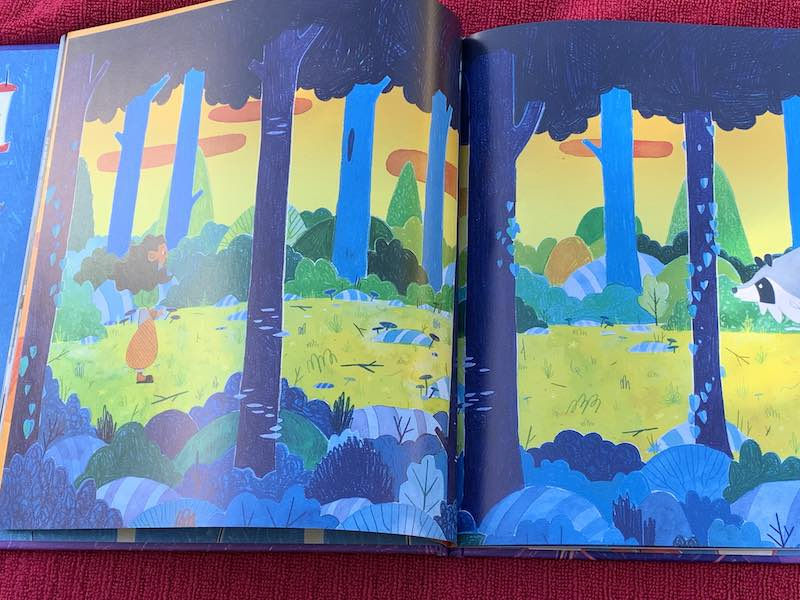 The Stunning artwork in Sha'an d'Anthes in picture book Bandits.