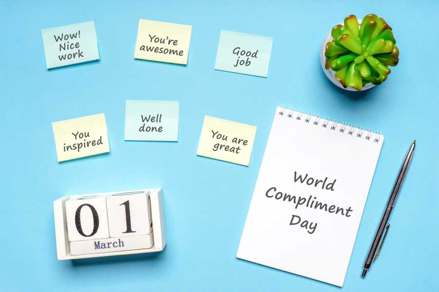 Give Someone a Compliment on World Compliment Day